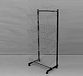 W127 4 Basket S/S Gondola-0