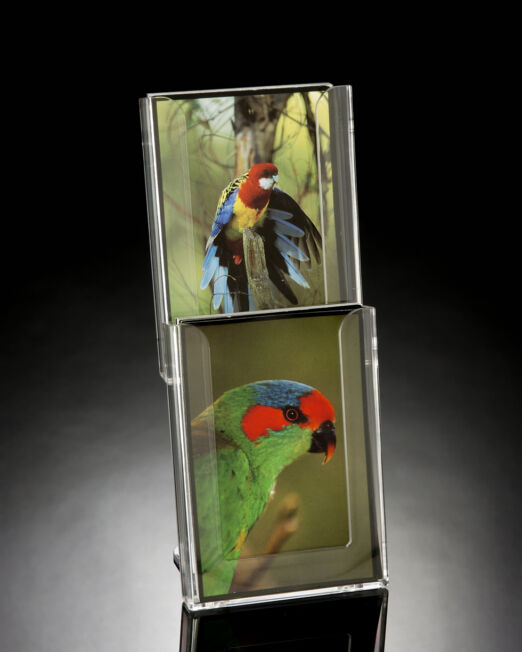 CT2VP Vertical Greeting Card Display with Base Bracket-510