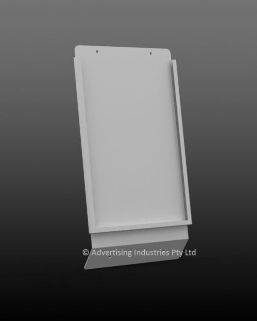 W53 Steel Sign Holder A4-0