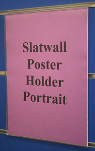 W233 Slotwall A3 Poster Holder-0