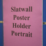 W232 Slotwall A4 Poster Holder-0