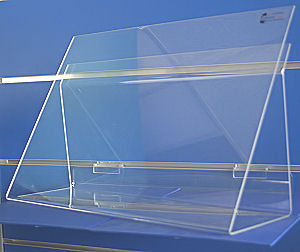 W418 Acrylic Book Displayer large-0