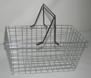 W87 Supermarket Carry Basket-0