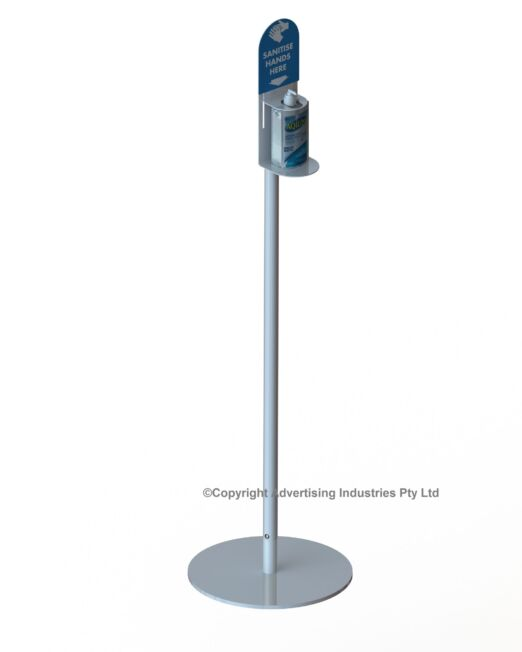 Hand Sanitiser Floor stand